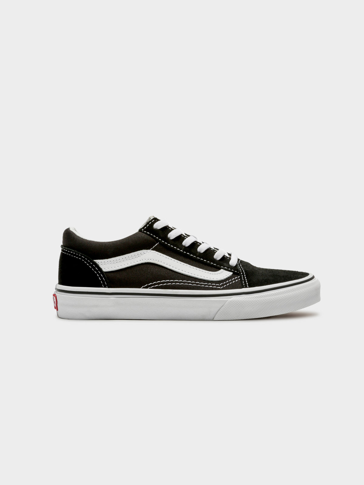 Womens Old Skool Sneakers in Black & White