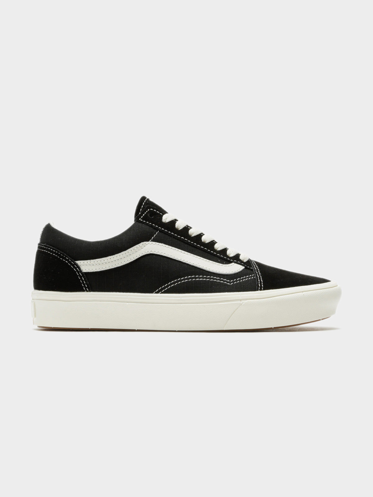 Comfycush Old Skool Ripstop Sneakers in Black