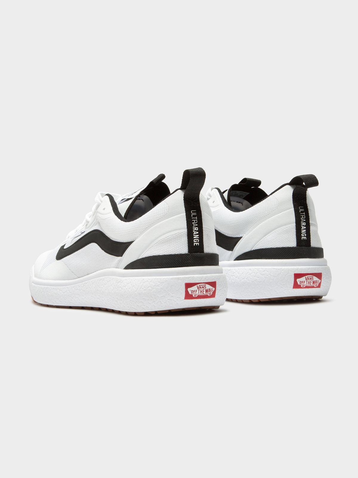 Unisex UltraRange Exo Sneakers in White & Black