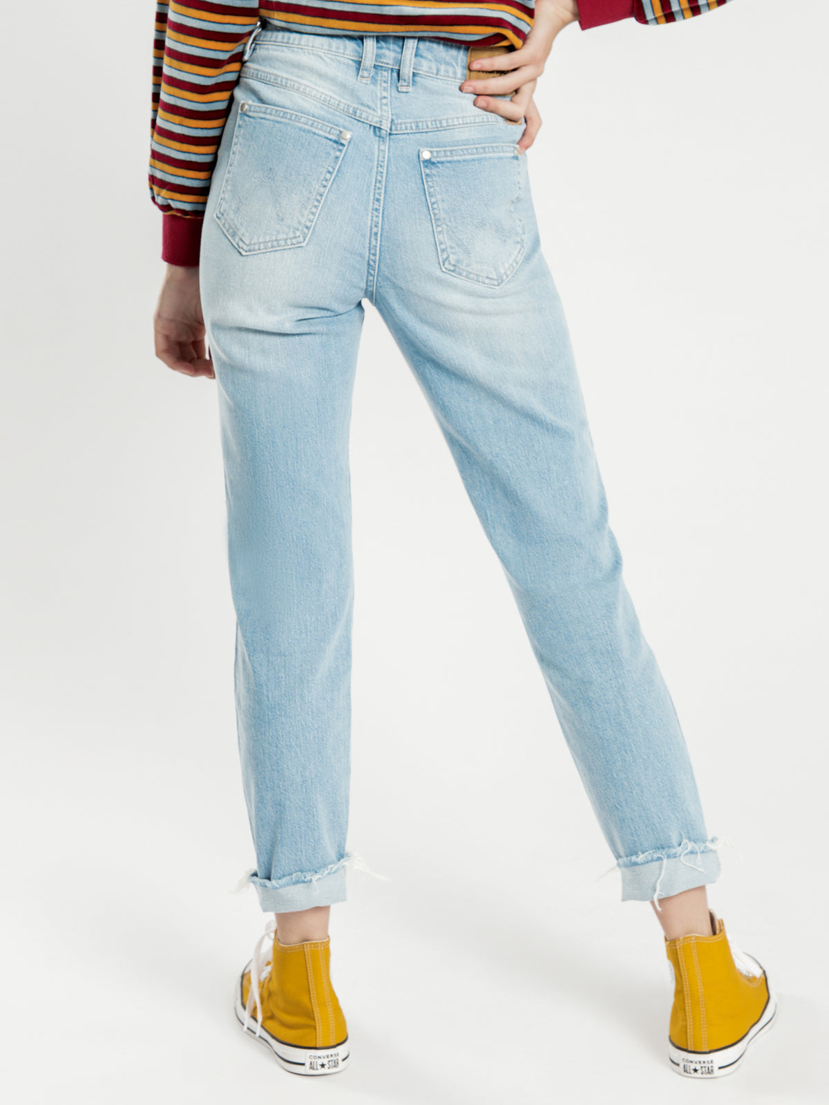 Drew Jeans in Coyote Blue Denim