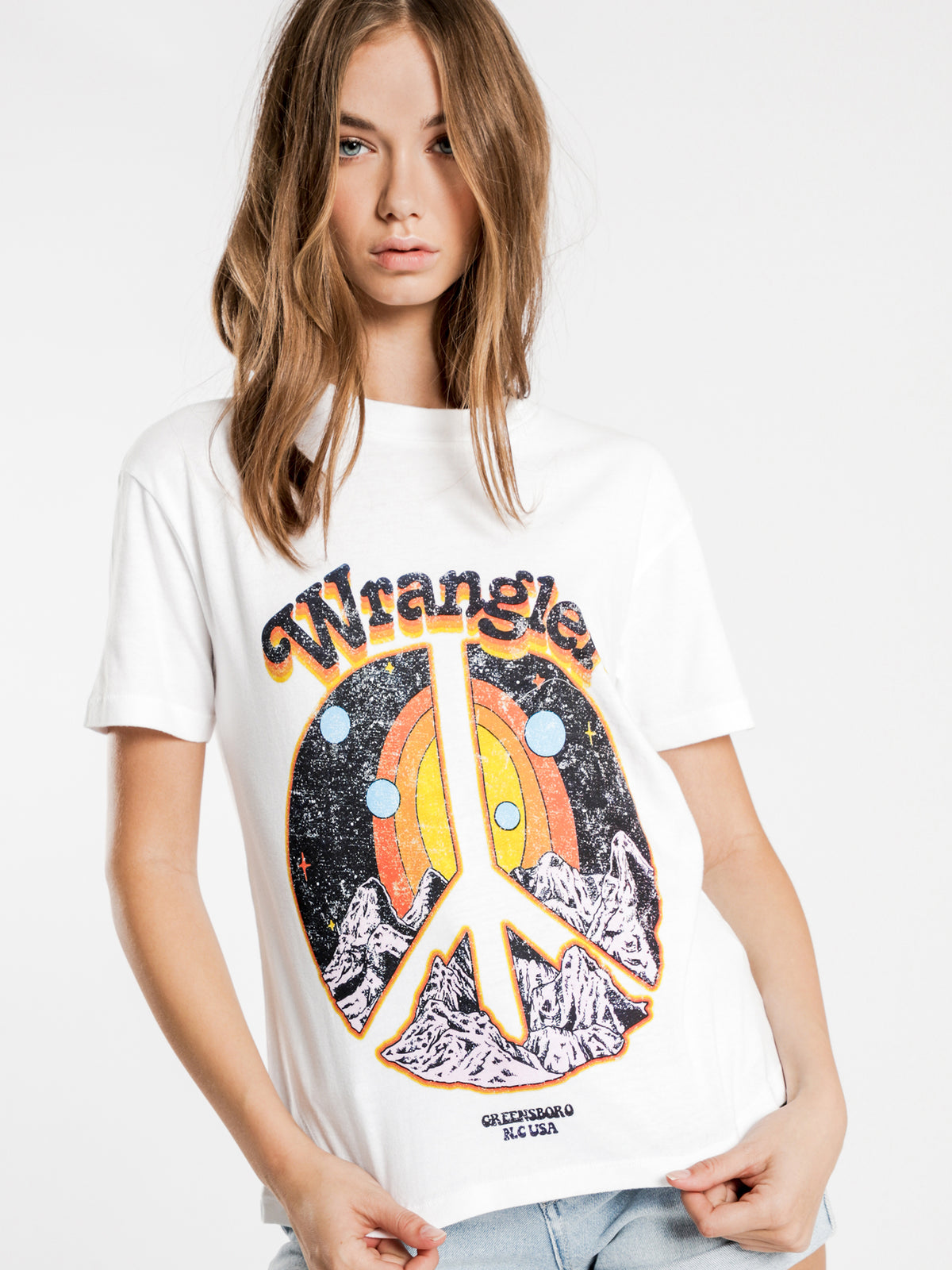 Peace Dream T-Shirt in White