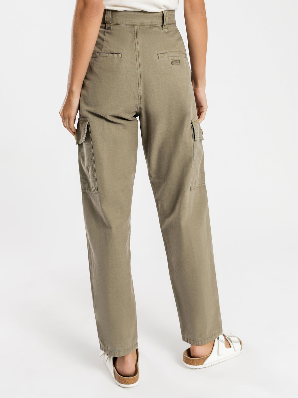 Cargo Pants in Army Green