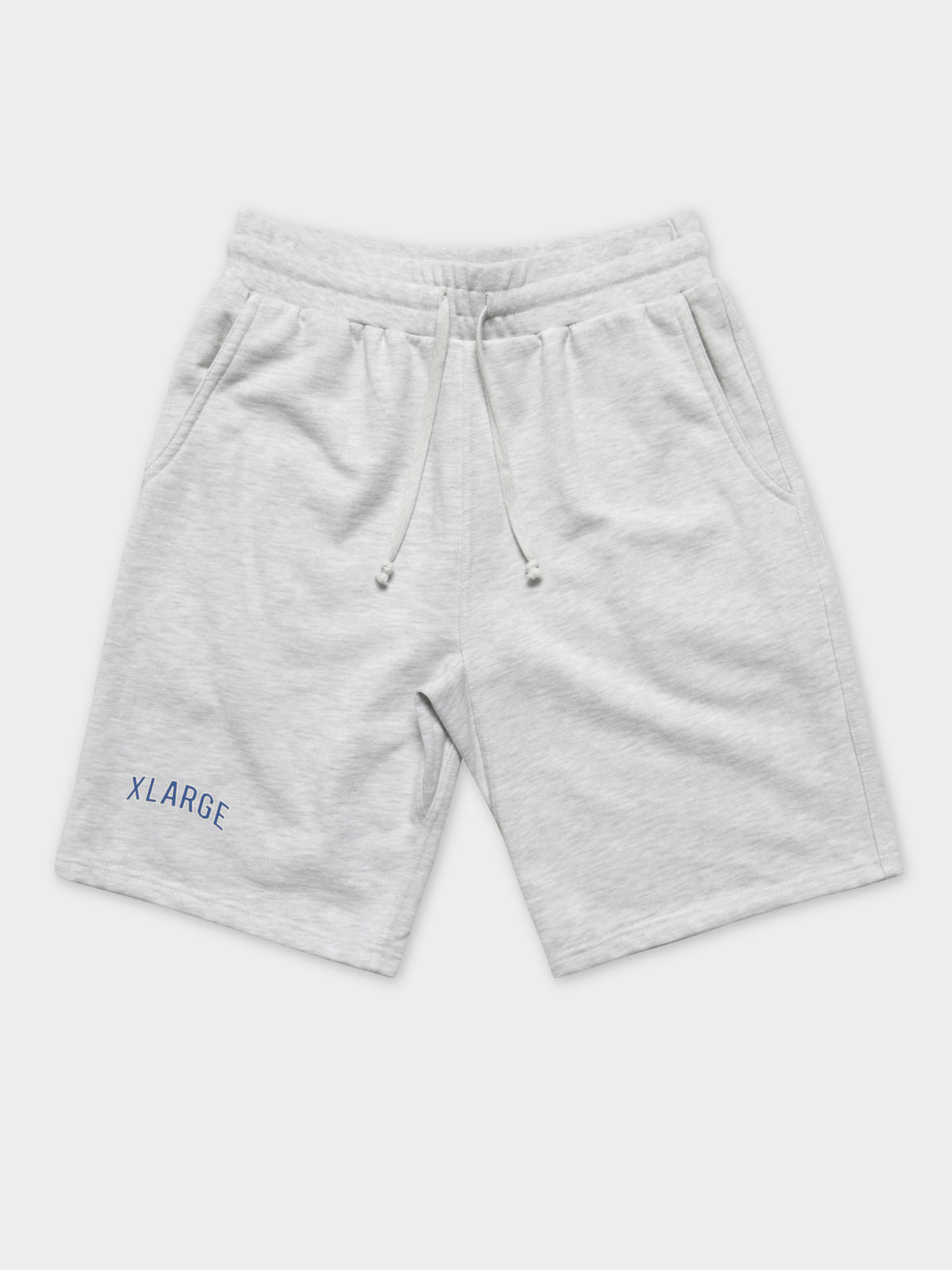 LA Baseball Short in Snow Marle