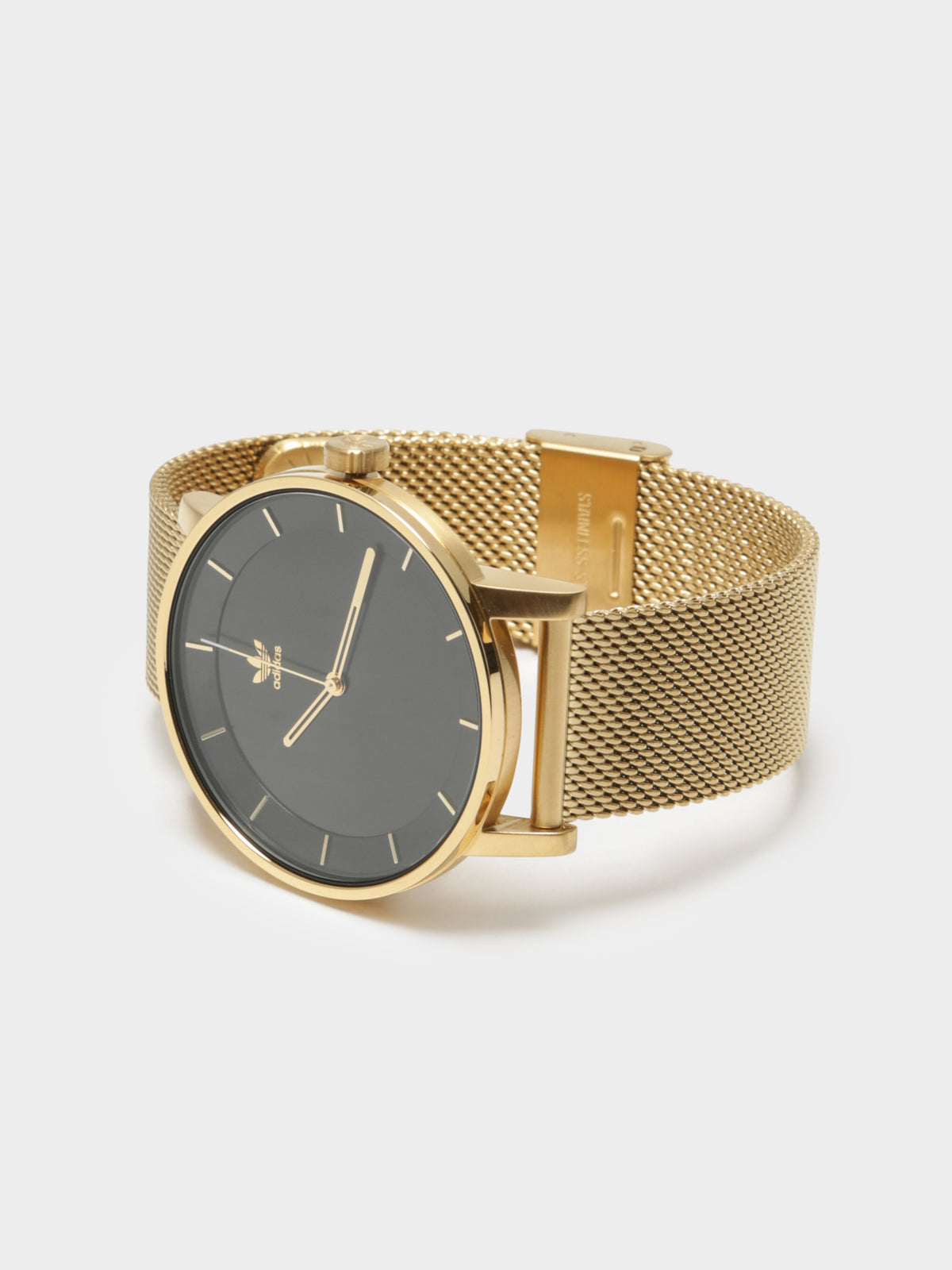 Unisex District_M1 40mm Watch in Gold and Black Sunray