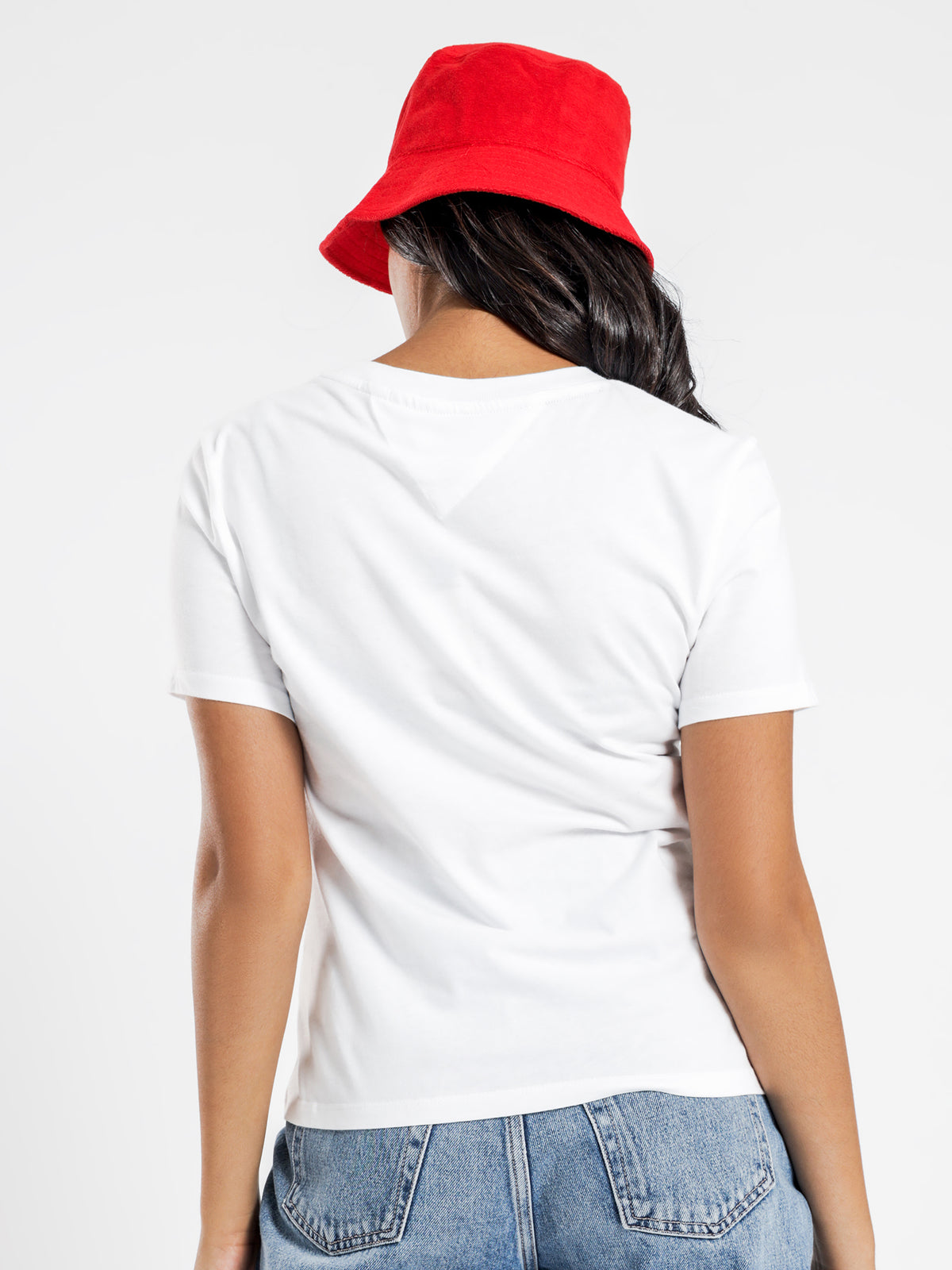 Tommy Classic T-Shirt in Classic White