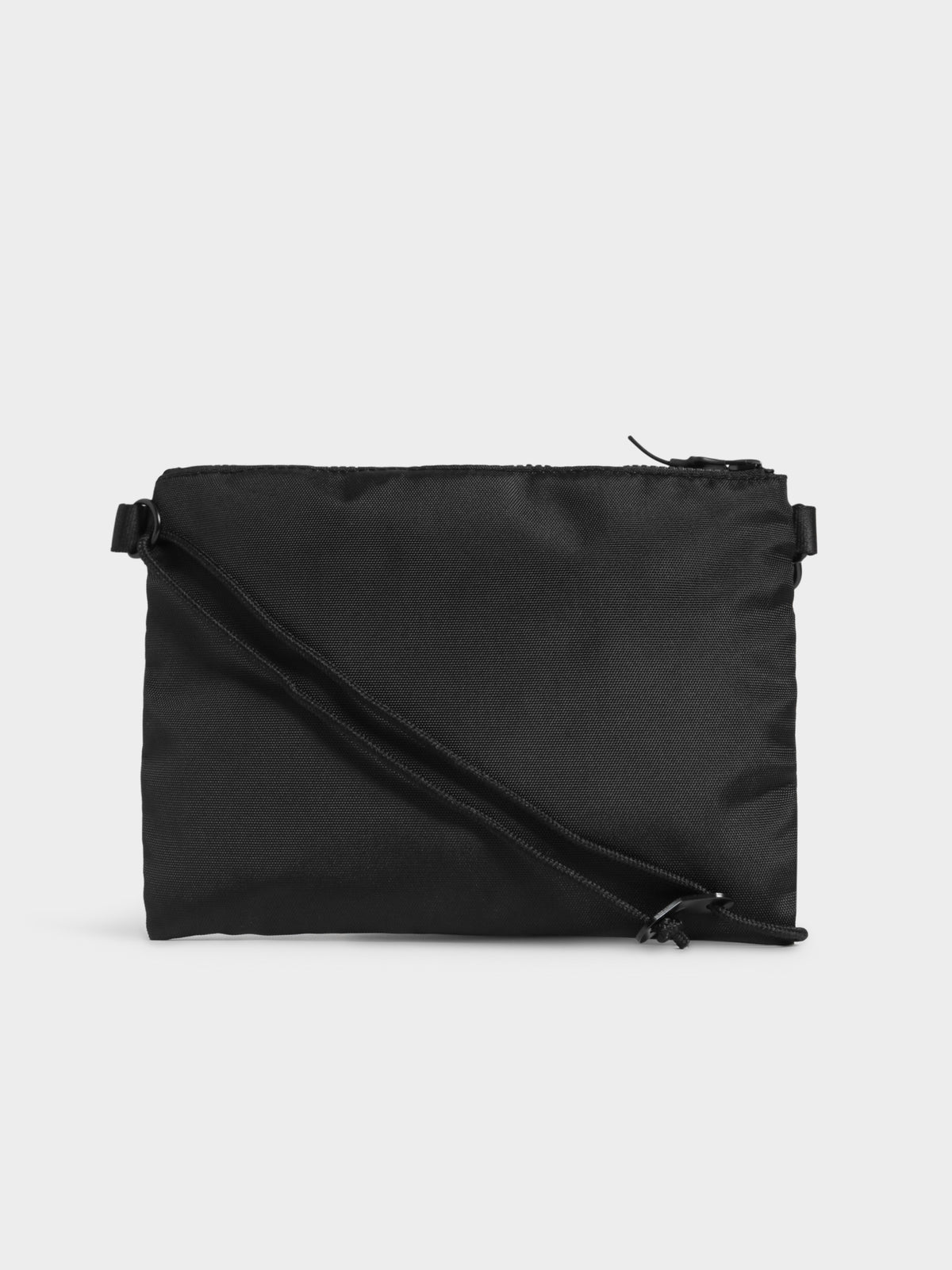 Script Shoulder Bag in Black