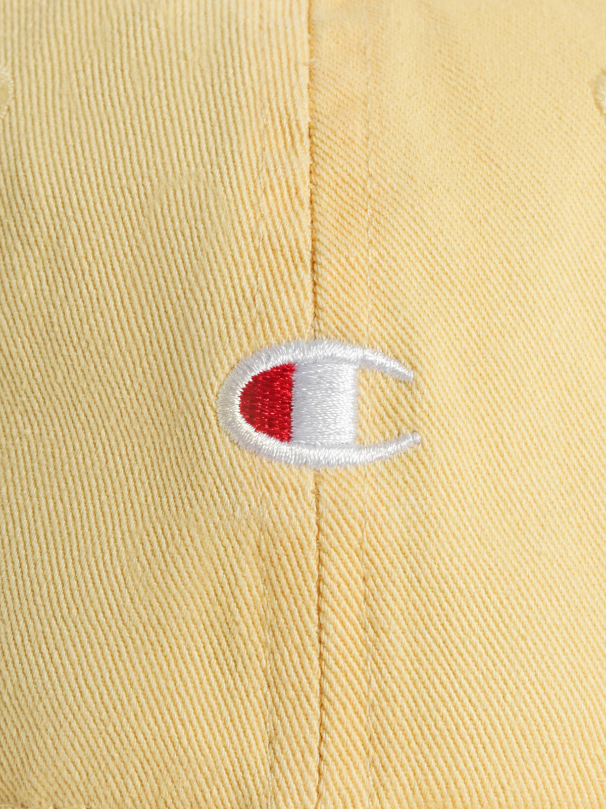 C Logo Vintage Cap in Crash Bandicoot Yellow