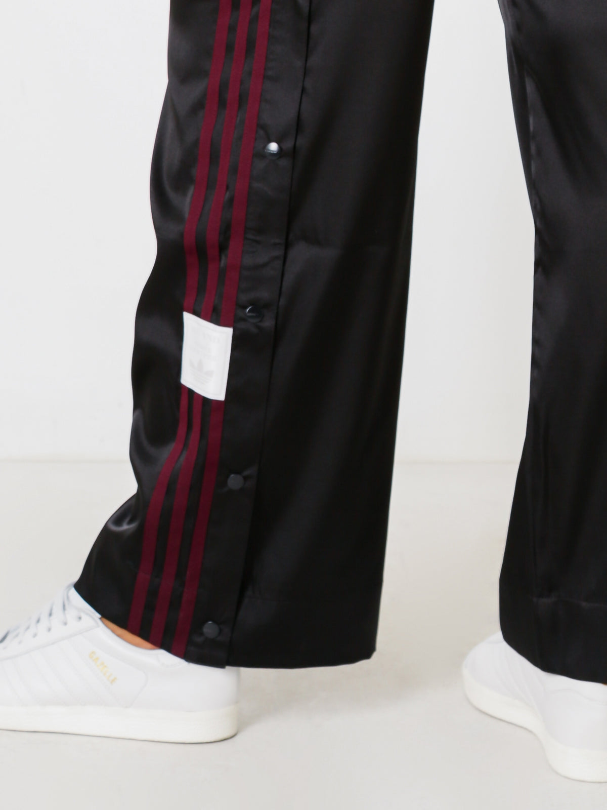 Adibreak Track Pants in Black Satin