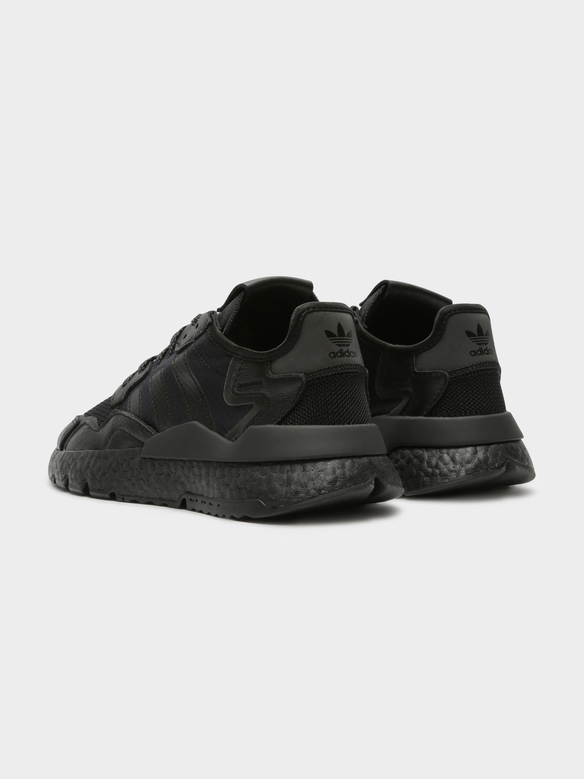Mens Nite Jogger Sneakers in Black