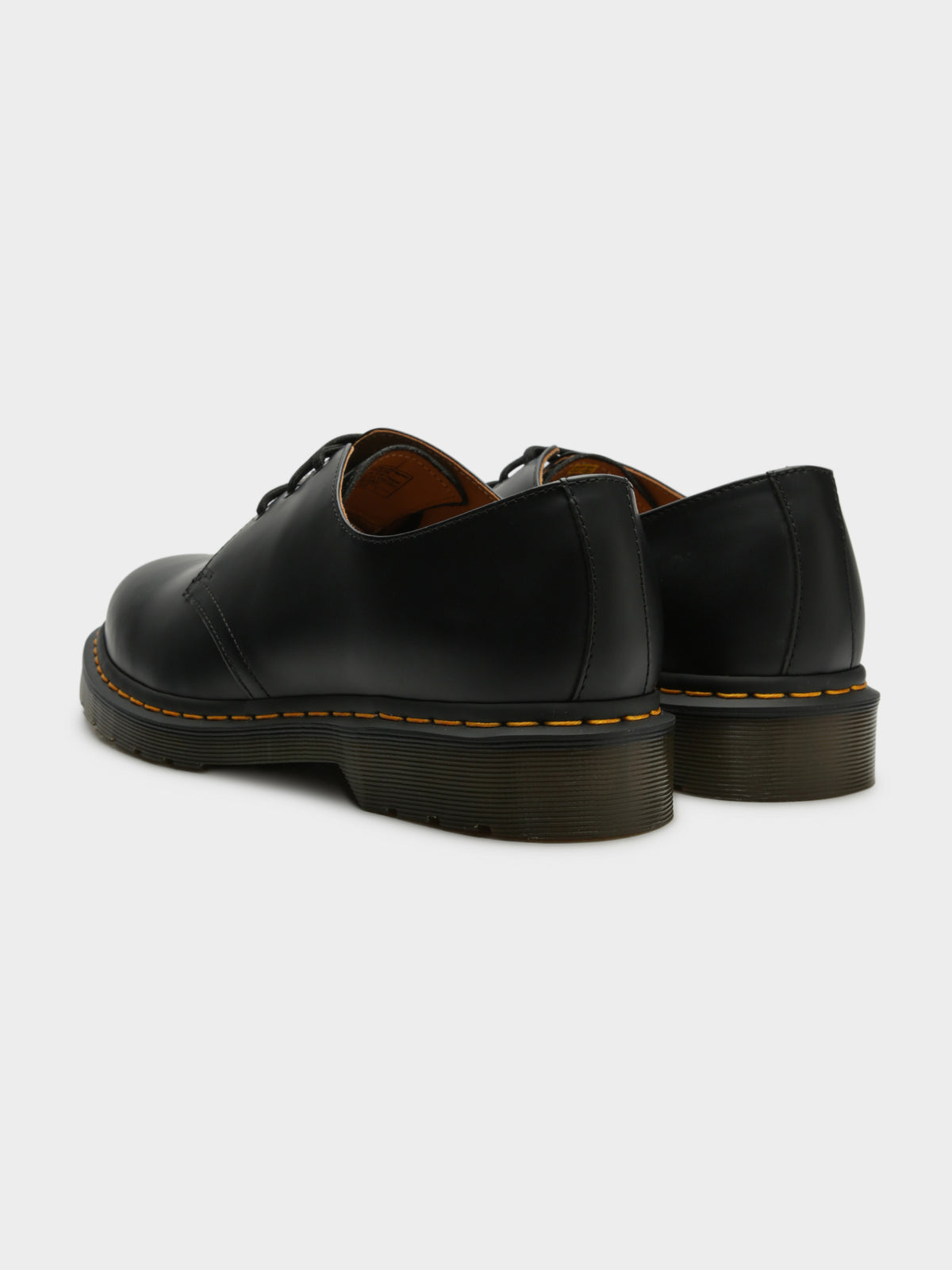 Unisex 1461 Oxford Shoes in Smooth Black Noir Leather