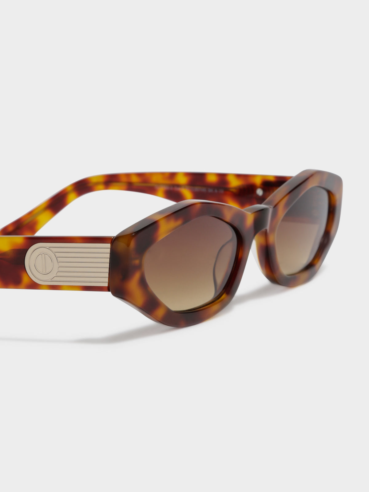 CL7759 Caremilly Tortoise Sunglasses in Brown Tortoiseshell