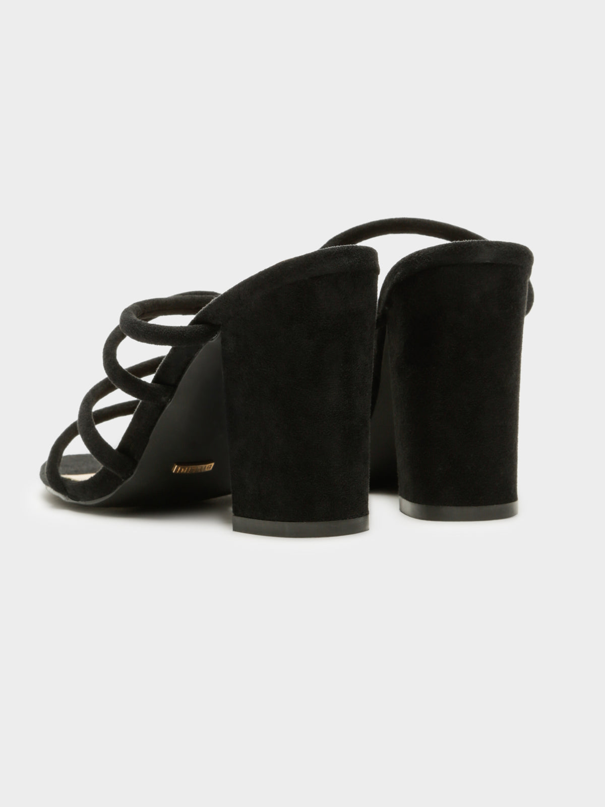 Womens Navo Heels in Black