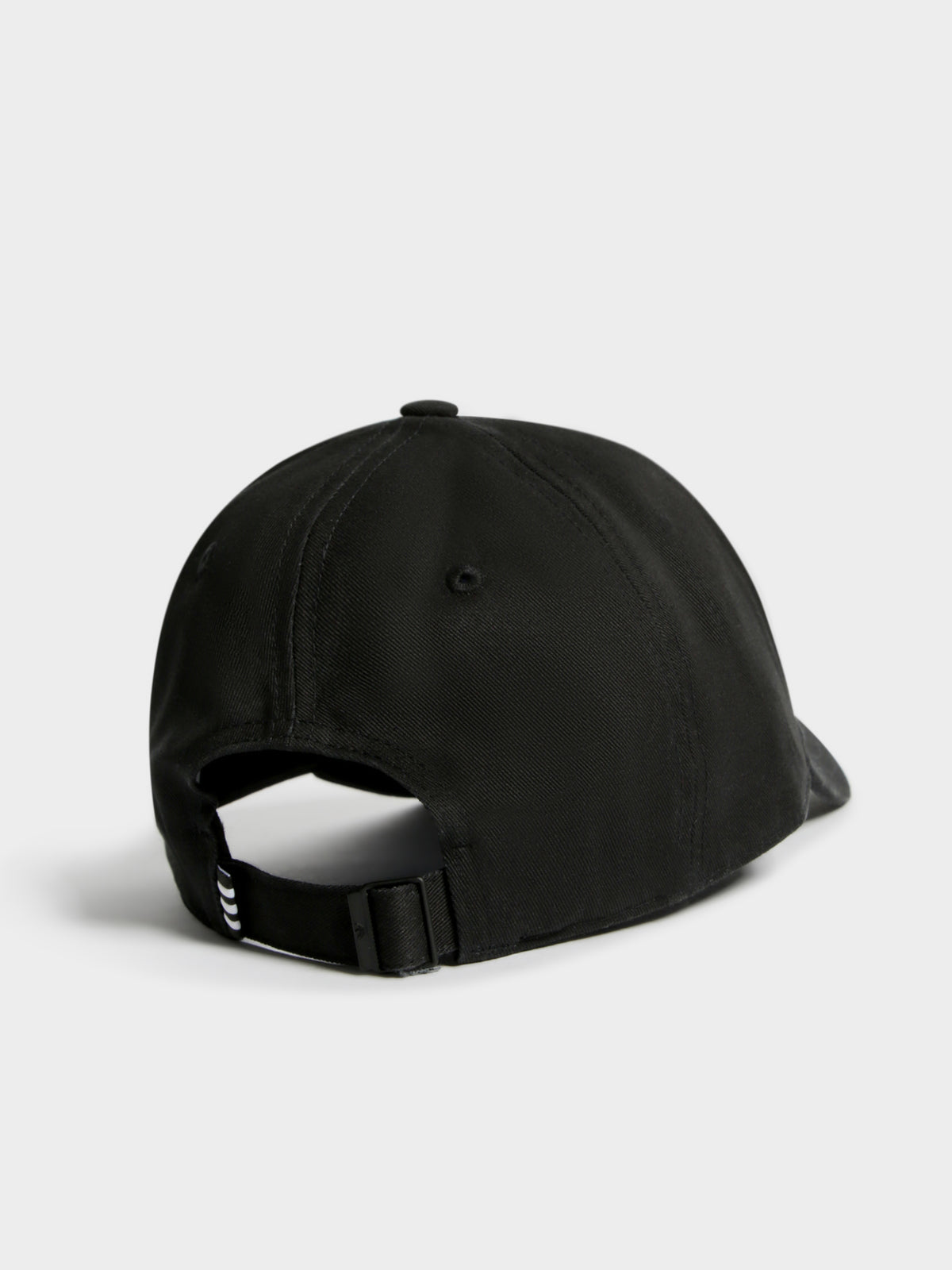 Trefoil Baseball Cap in Black