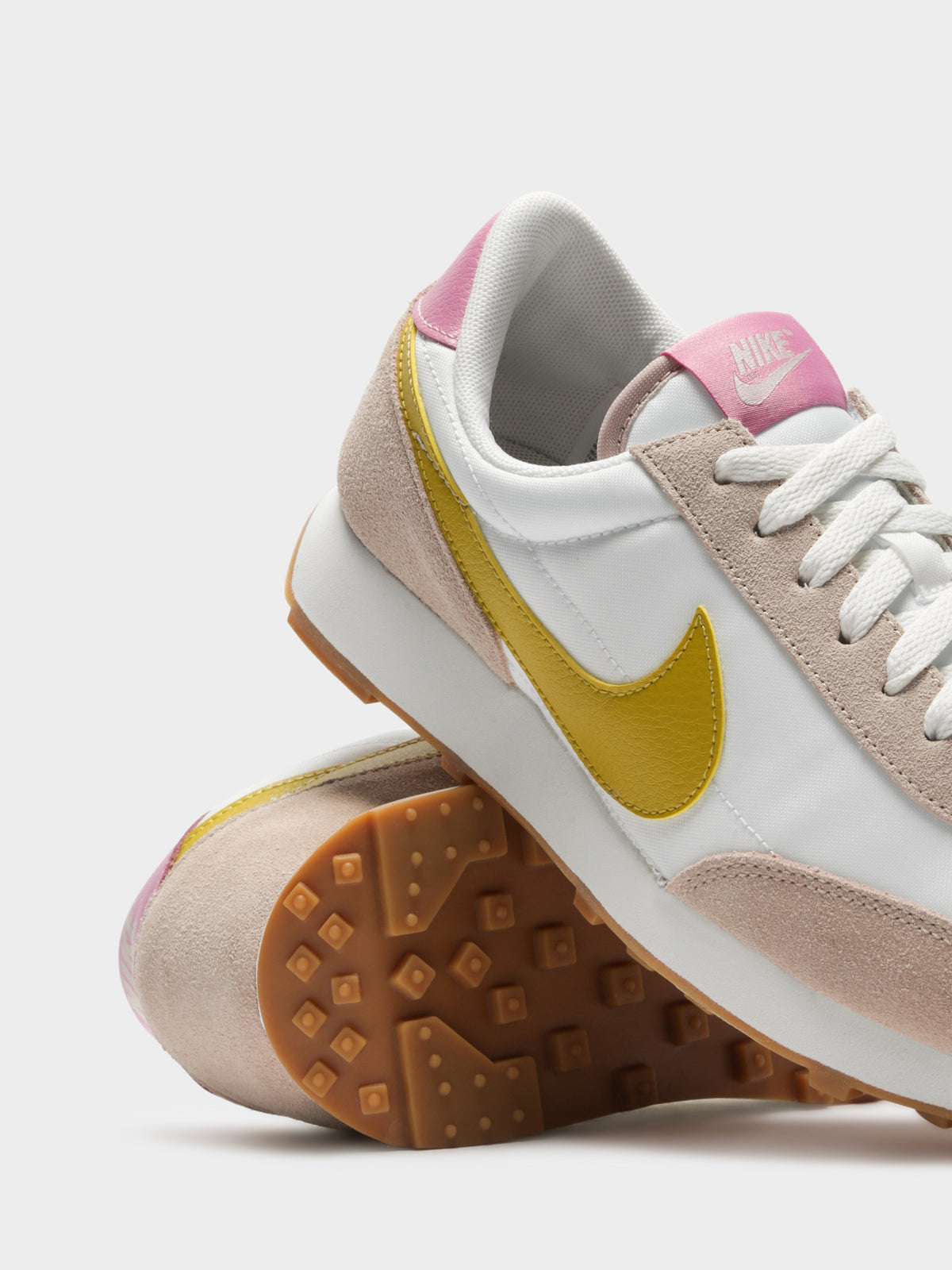 Womens Daybreak Sneakers in White & Yellow