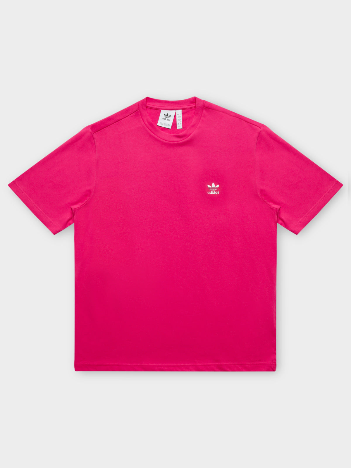 Originals Trefoil Boxy T-Shirt in Power Pink