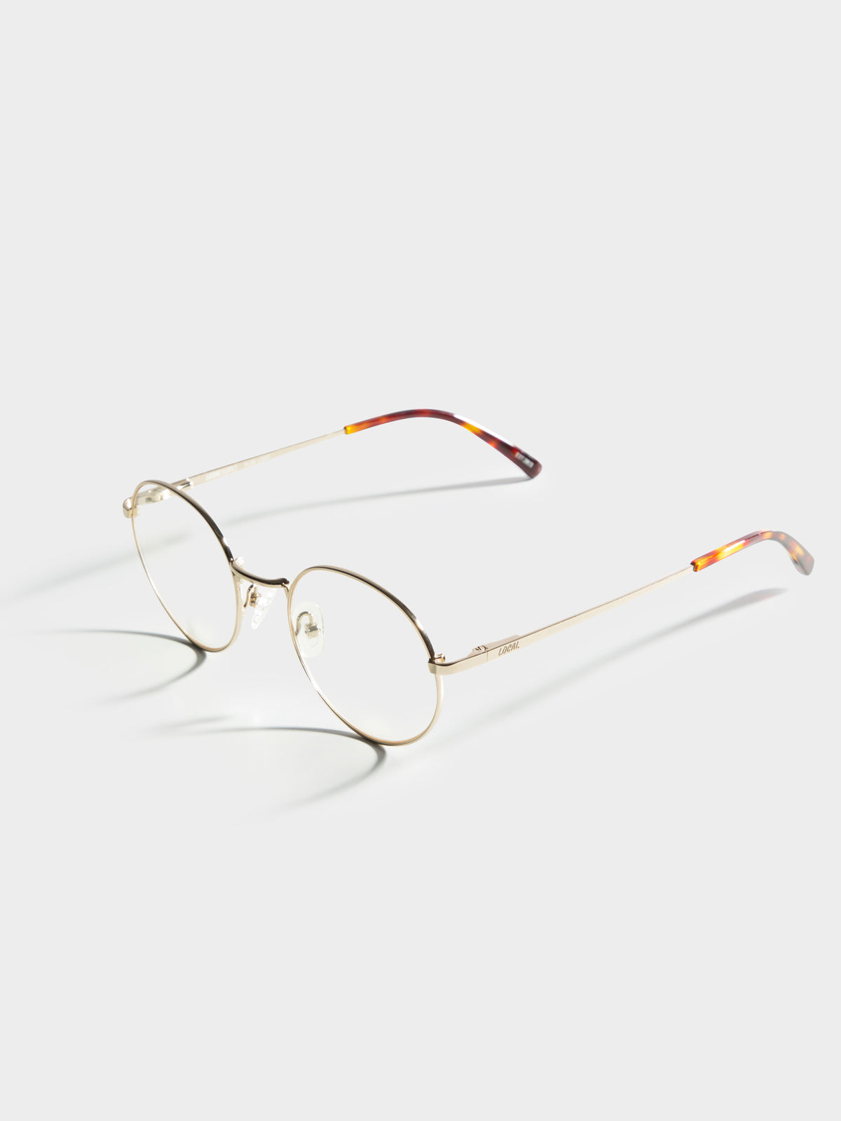 Harbour GDP27 Polished Clear Glasses in Gold