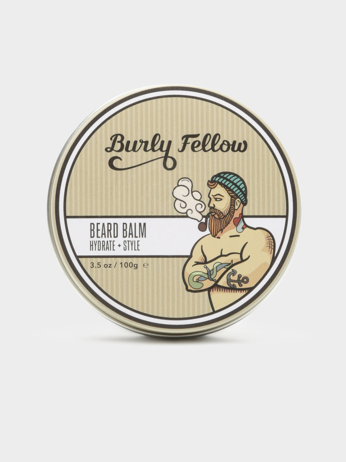Mens Hyrdrate & Protect Beard Balm in Tobacco and Vanilla Scent