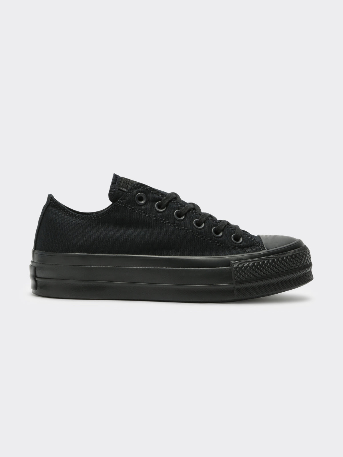 Womens Chuck Taylor All Star Lift Platform Sneakers in Ox Black