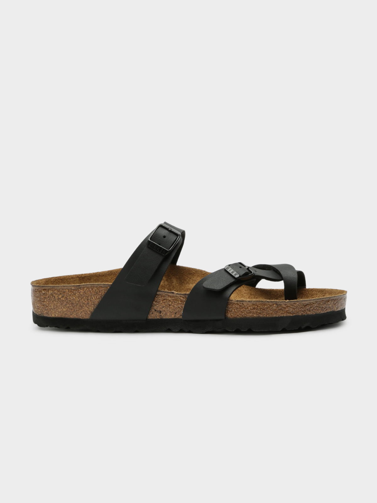 Womens Mayari Birko-Flor Sandals in Black