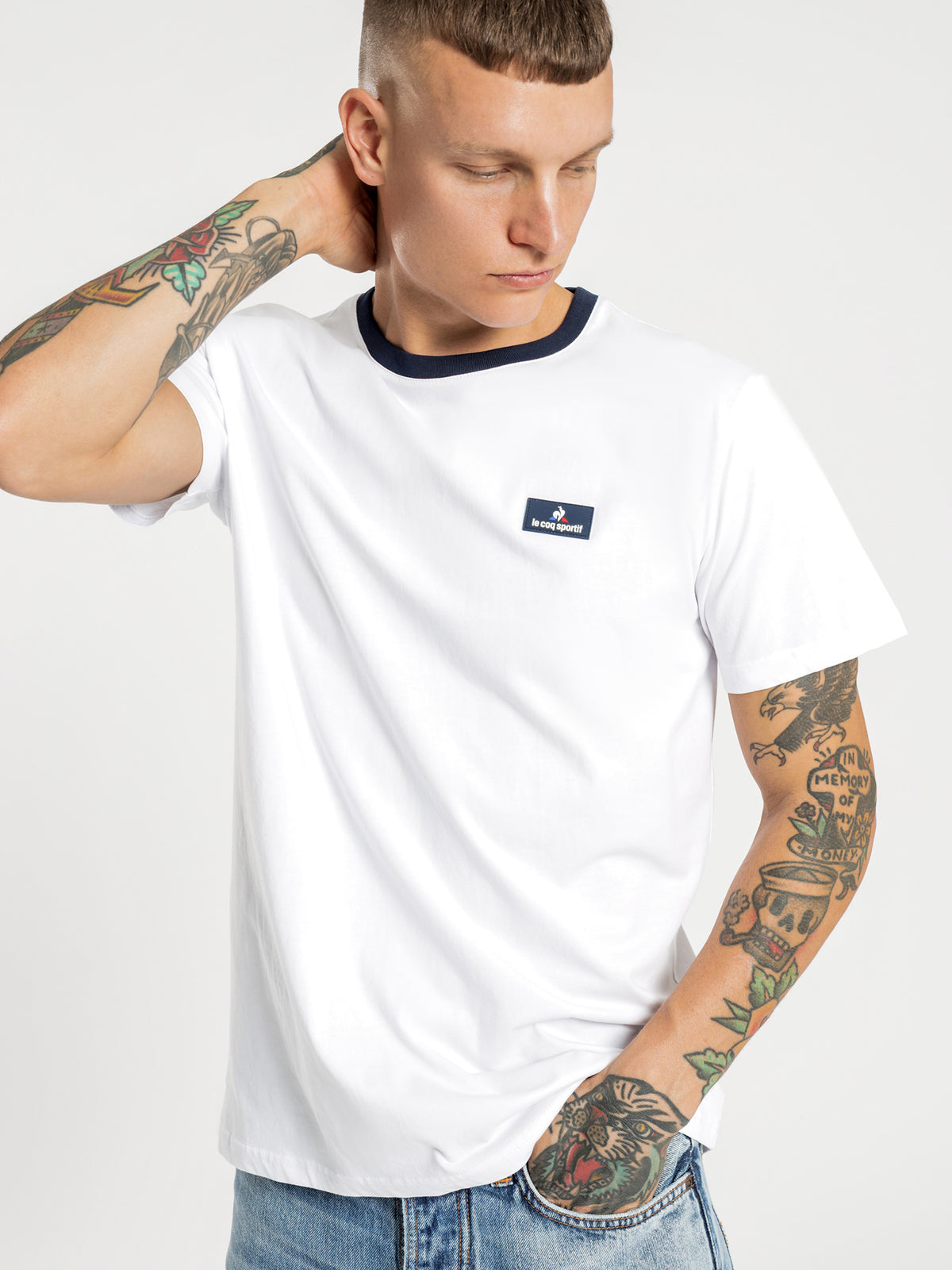 Giles T-Shirt in White