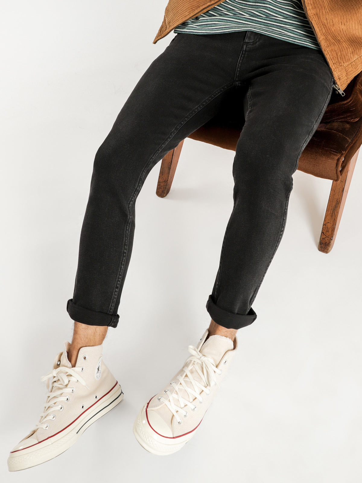Smith R28 Jeans in Southwind Black