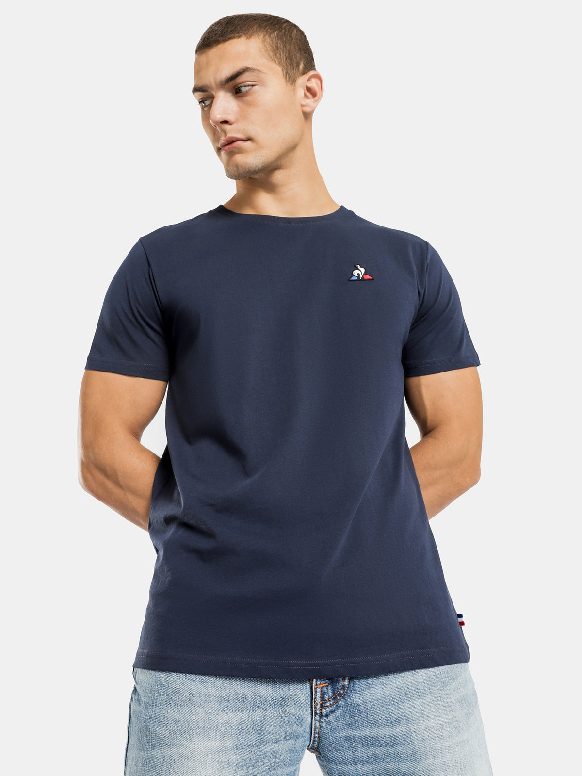 Essential T-Shirt in Dress Blues