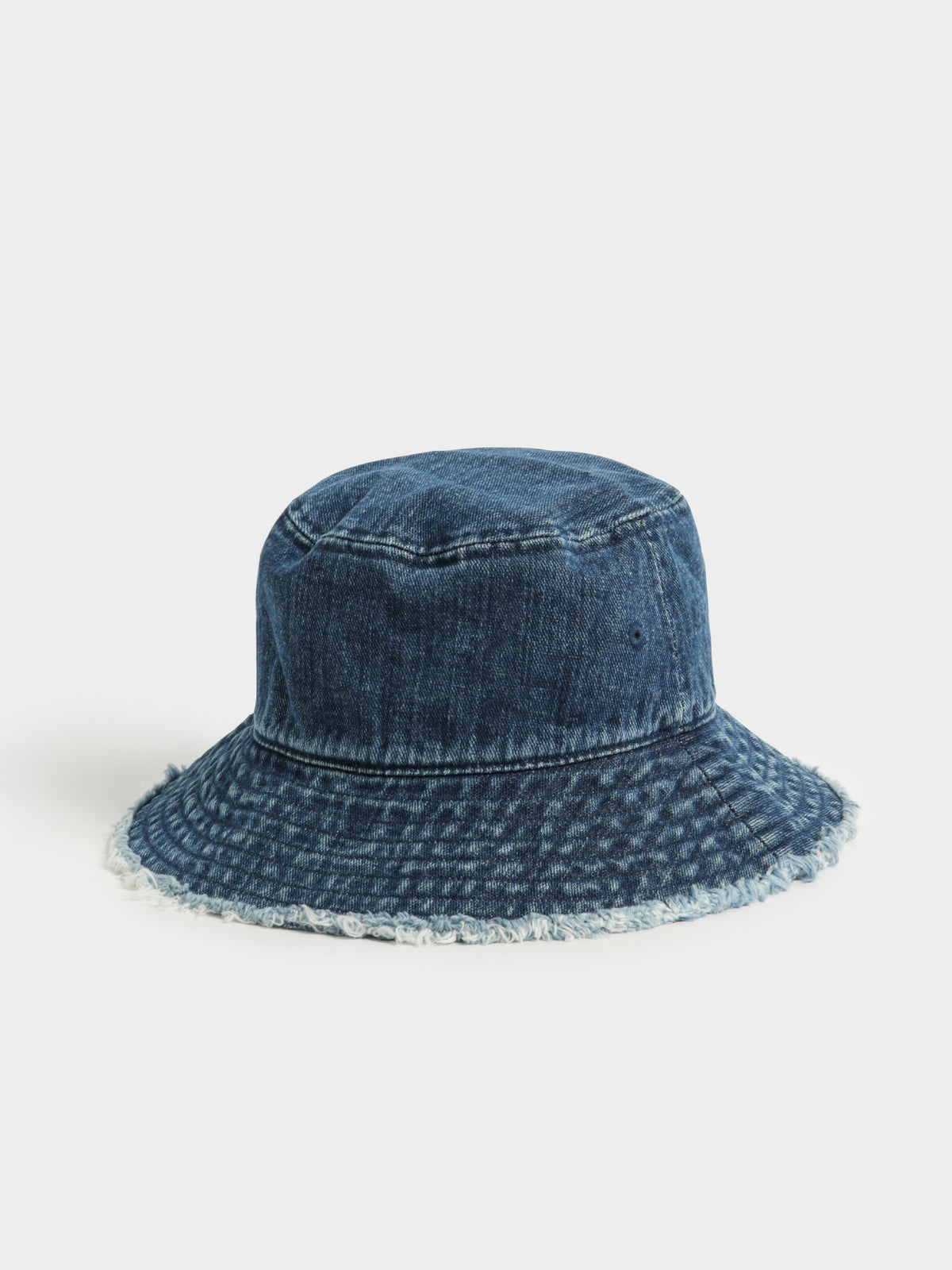 TJW Heritage Denim Bucket Hat in Blue