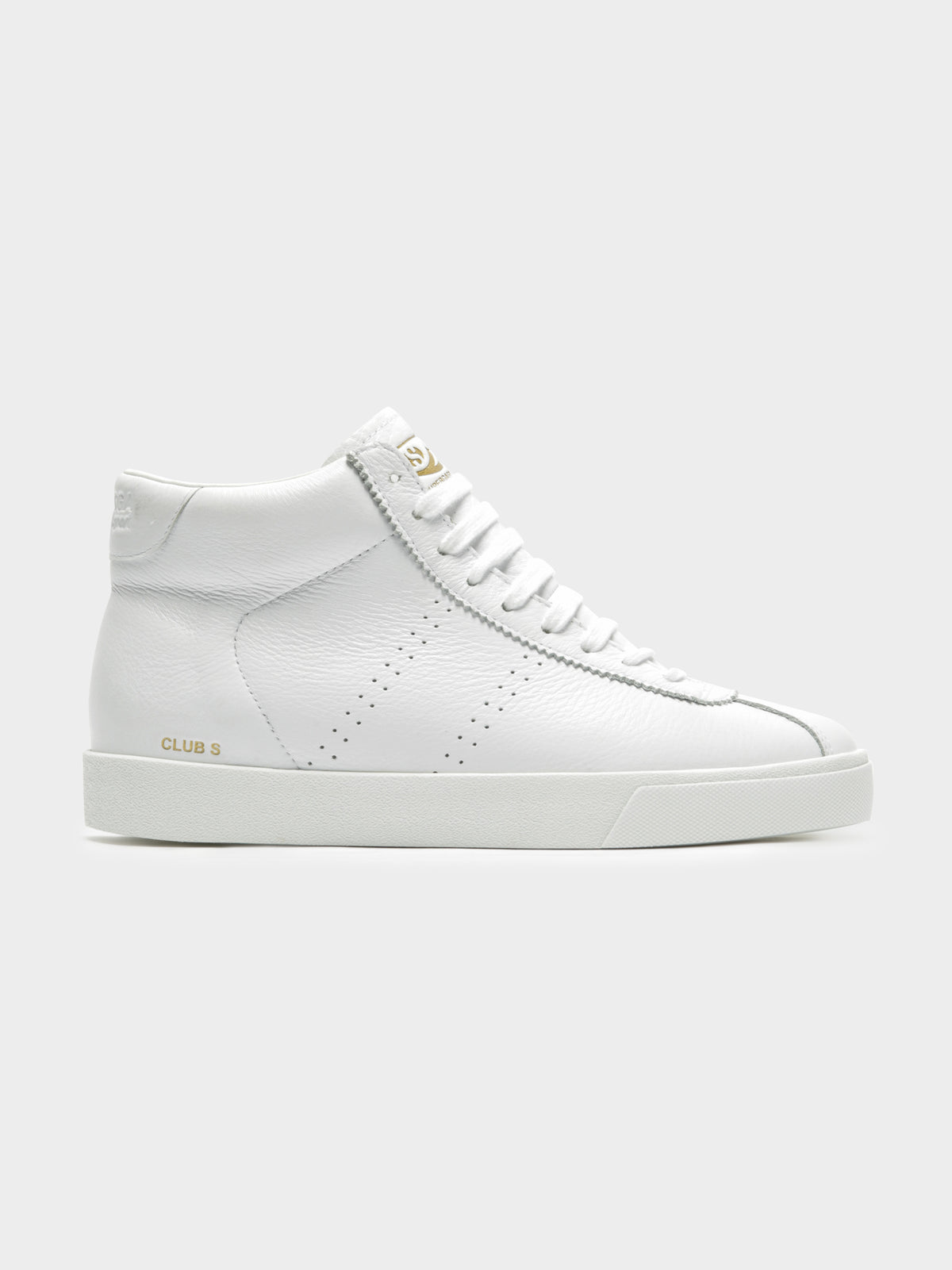 Womens 2871 Club S Comfleau High Top Sneakers in White