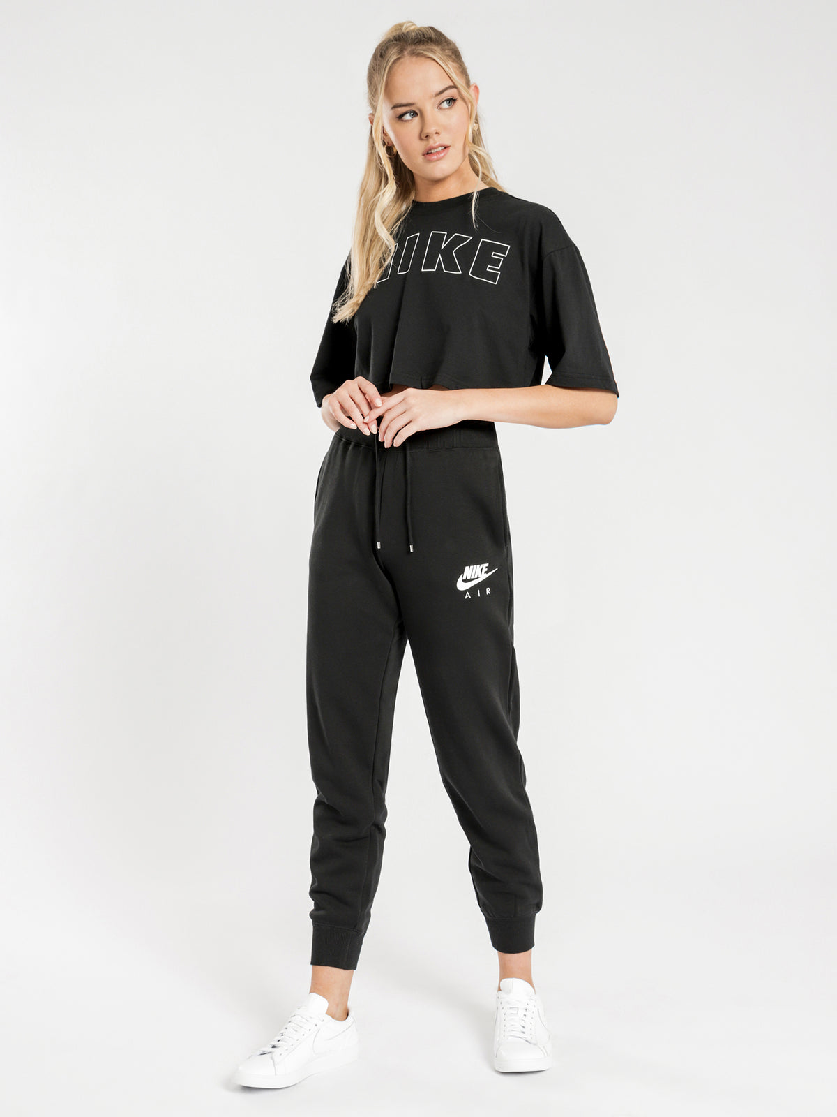 NSW Air Track Pants in Black