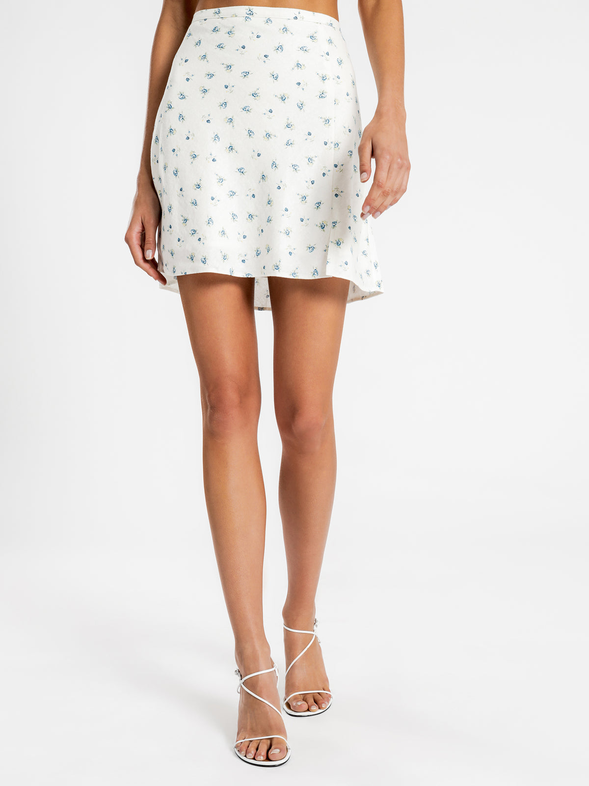 Cecile Mini Skirt in Hacienda