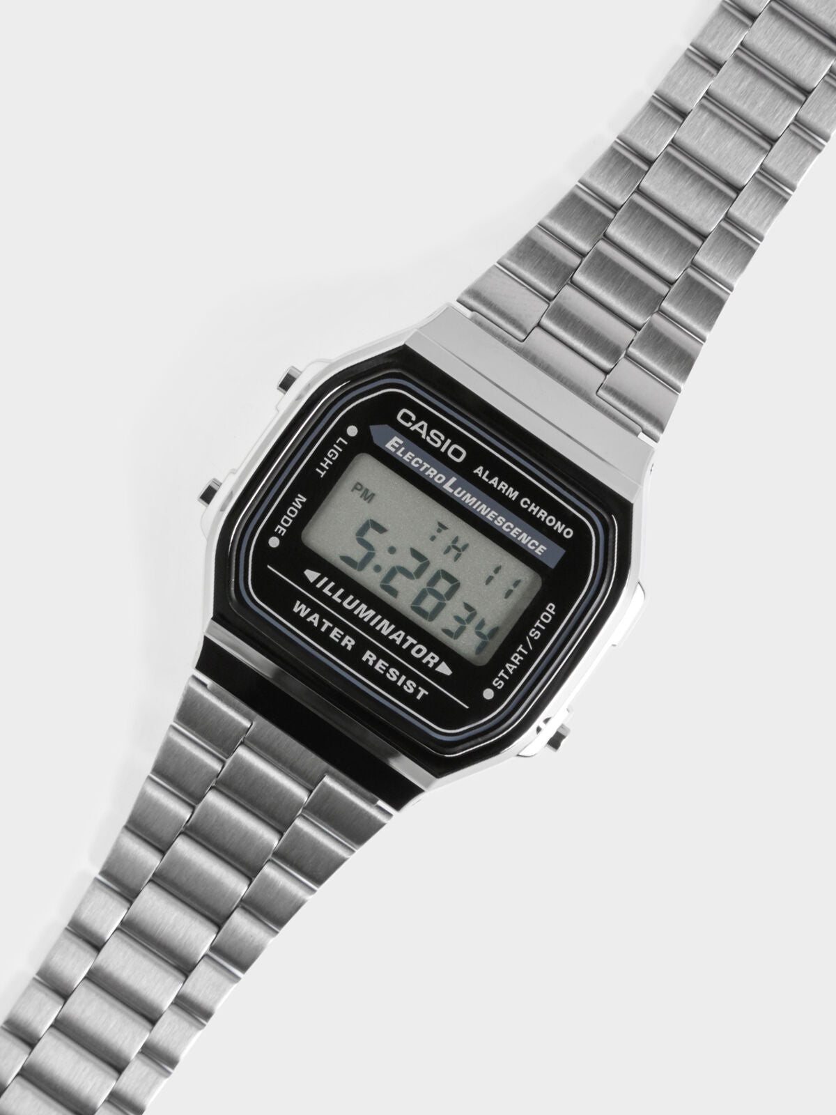 Gunmetal Series Digital Watch in Grey