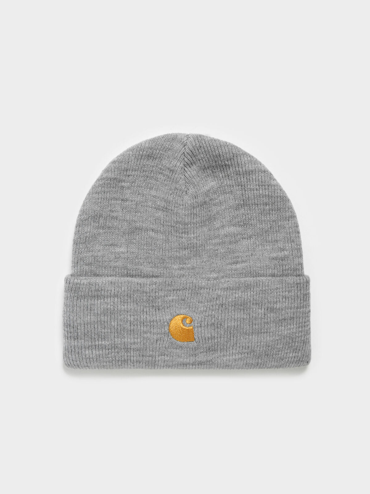 Chase Beanie in Grey & Gold