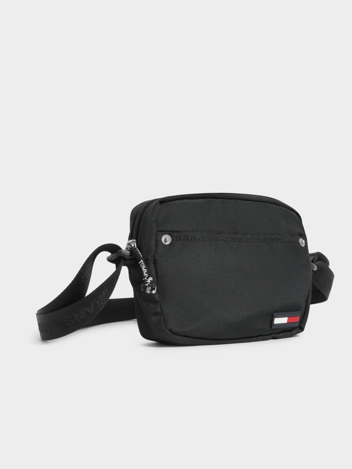 Campus Girl Crossover Bag in Black