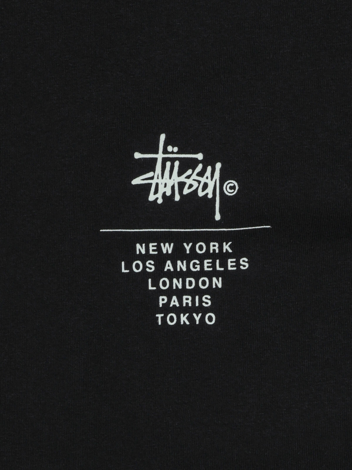 Cities Relaxed T-Shirt in Black