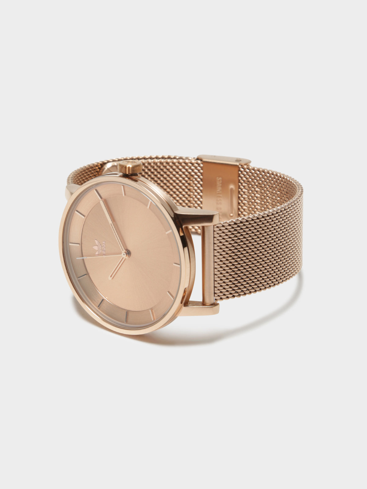 Unisex District_M1 Analog 40mm Watch in Rose Gold