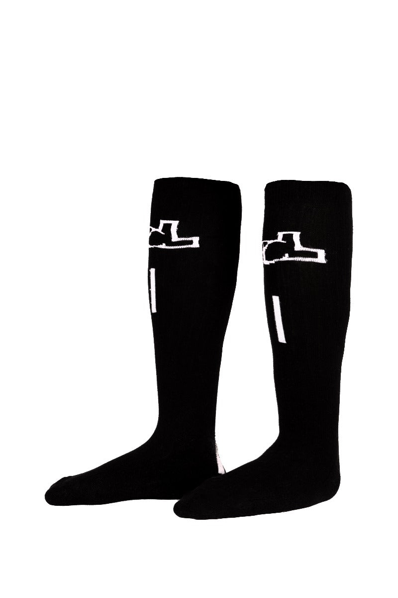 YL BLACK SOCKS