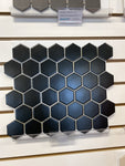 Black Hexagon Mosaic 2""