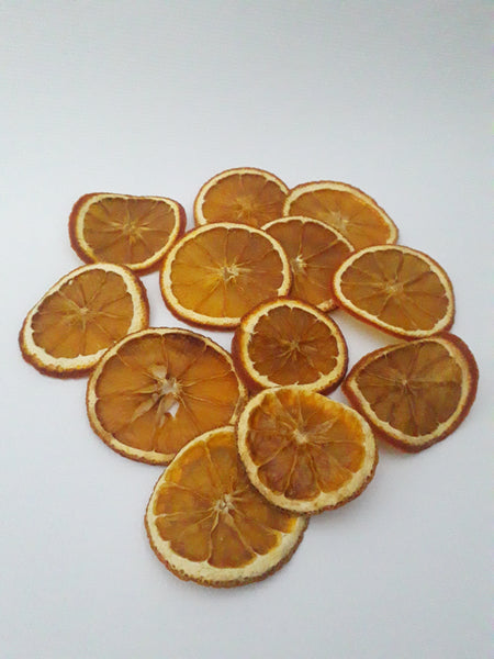 dried orange slices for milk bath