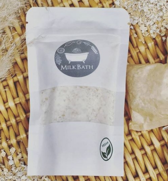 Irish Oats Milk Bath Vegan