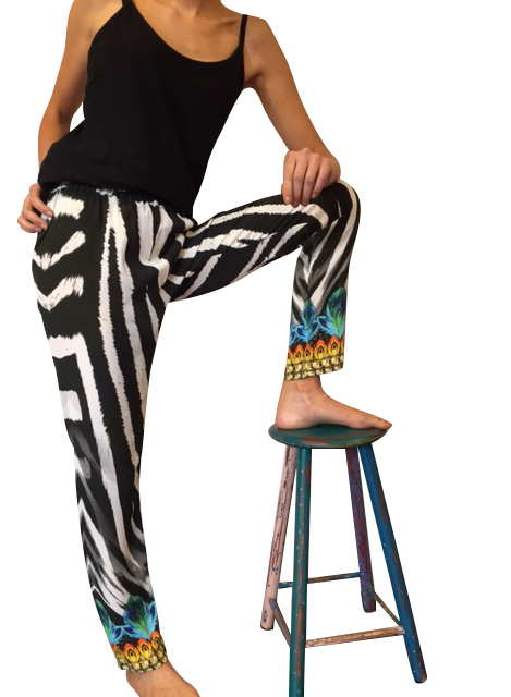 Glam Zeb Pants * Limited Stock * - GlamTanz Kaftans & Resortwear Sydney Australia
