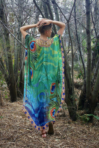 Exotic Tiger Long Kaftan