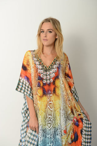 AFRICAN PRINCESS LONG KAFTAN