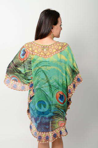 Exotic Blue Tiger Balloon Kaftan * Limited Stock *