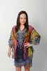 EXOTIC FEATHER BALLOON KAFTAN