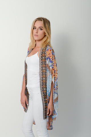 Black Snake Kaftan - 50% OFF