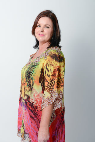 RUBY SUNRISE KAFTAN