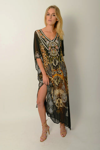 TIGER TIGER LONG KAFTAN