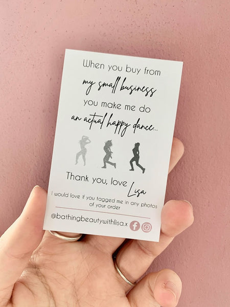 Happy Dance Cards - Card