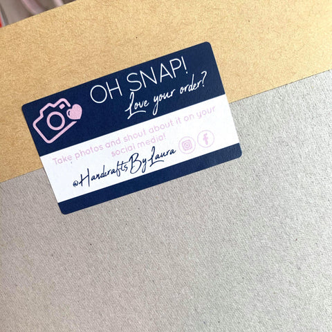 OH SNAP Packaging Stickers