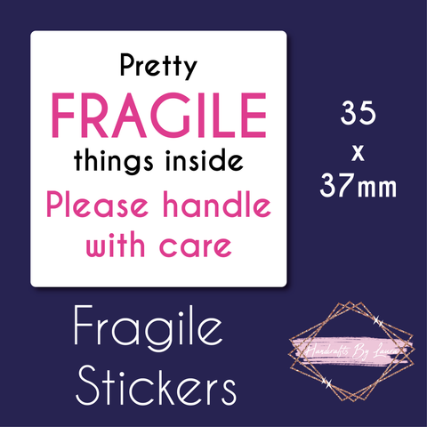 Fragile Packaging Stickers